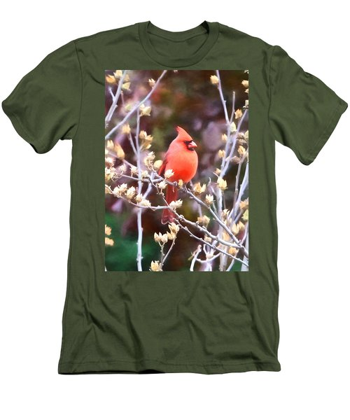 Cardinal Men's T-Shirt (Slim Fit) by John Freidenberg