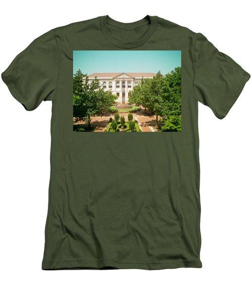The Old Main - University Of Arkansas Men's T-Shirt (Slim Fit) by Mountain Dreams