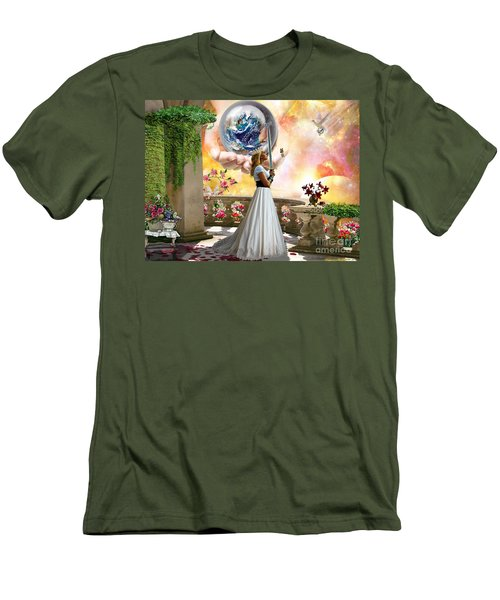 Warrior Bride Men's T-Shirt (Athletic Fit)