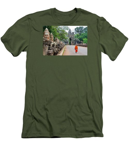 54 Gods And A Monk Men's T-Shirt (Athletic Fit)