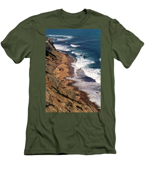 Block Island Men's T-Shirt (Athletic Fit)
