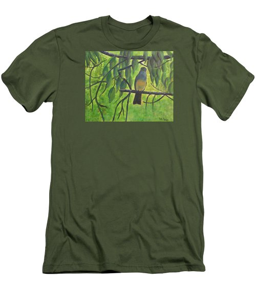 A Bird Looking At Me Men's T-Shirt (Athletic Fit)