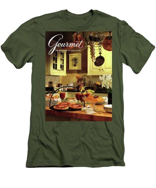 A Buffet Brunch Party Men's T-Shirt (Athletic Fit)