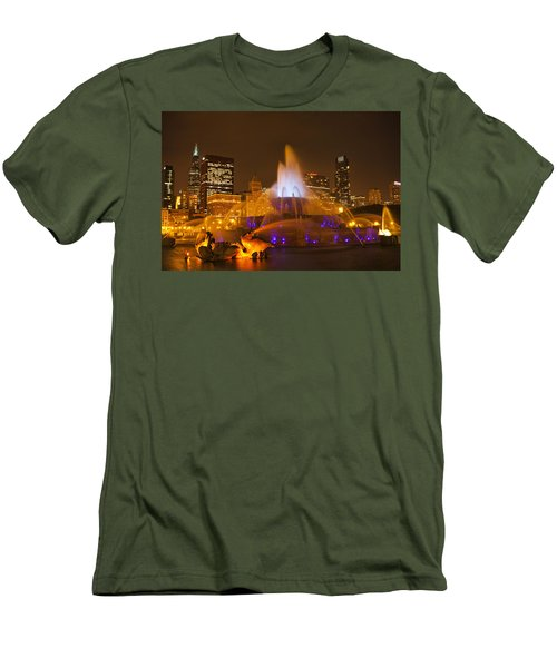 A Chicago Twilight Men's T-Shirt (Athletic Fit)