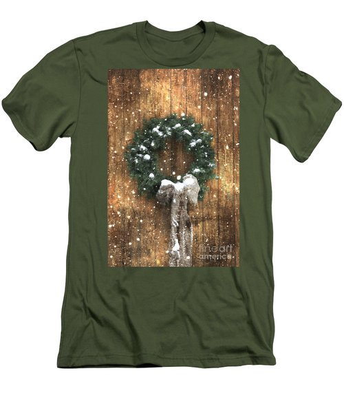 A Country Christmas Men's T-Shirt (Athletic Fit)