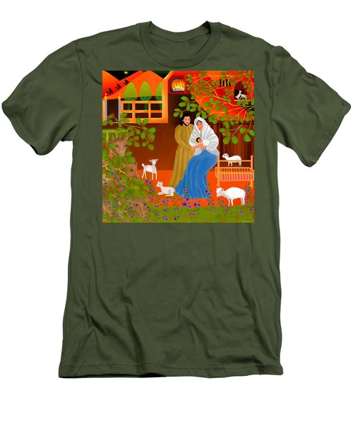 A Cradle In Bethlehem Men's T-Shirt (Athletic Fit)
