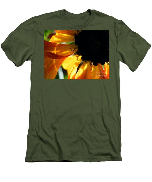 Men's T-Shirt (Slim Fit) featuring the photograph A Dark Sun by Brian Boyle