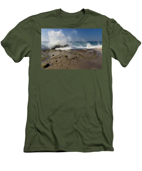 A Day Like Today Men's T-Shirt (Slim Fit) by Heidi Smith