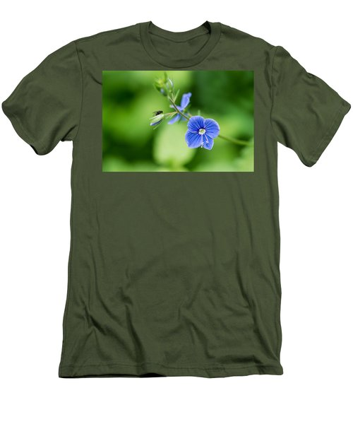 A Flower And A Fly - Featured 3 Men's T-Shirt (Athletic Fit)