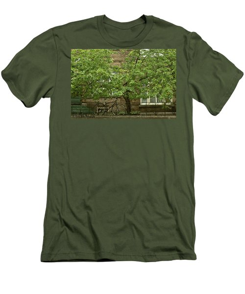 A Guardian In The Rain Men's T-Shirt (Athletic Fit)