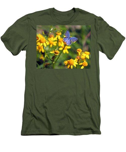 A Little Blue Men's T-Shirt (Athletic Fit)