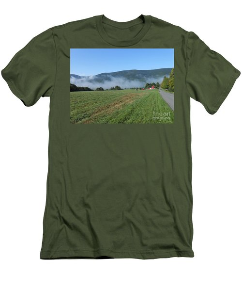 A Morning Ride On Our Paso Fino Stallions Men's T-Shirt (Athletic Fit)