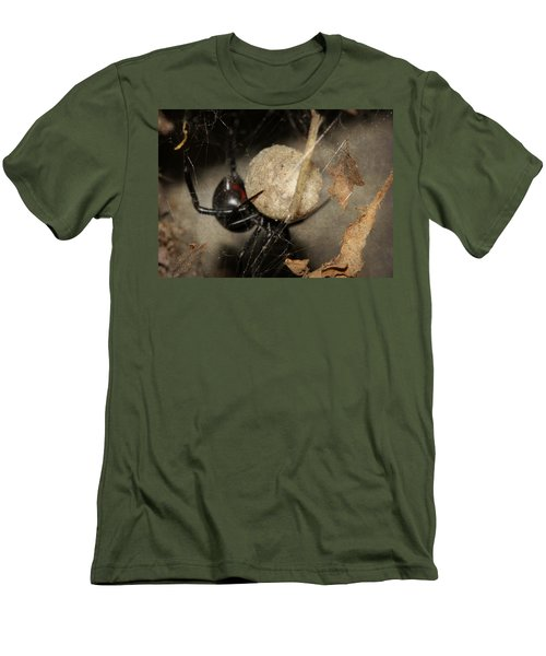 A Mothers Den Men's T-Shirt (Slim Fit) by Melanie Lankford Photography
