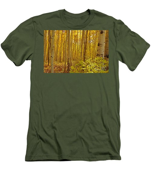 A Peek Into Heaven Men's T-Shirt (Athletic Fit)