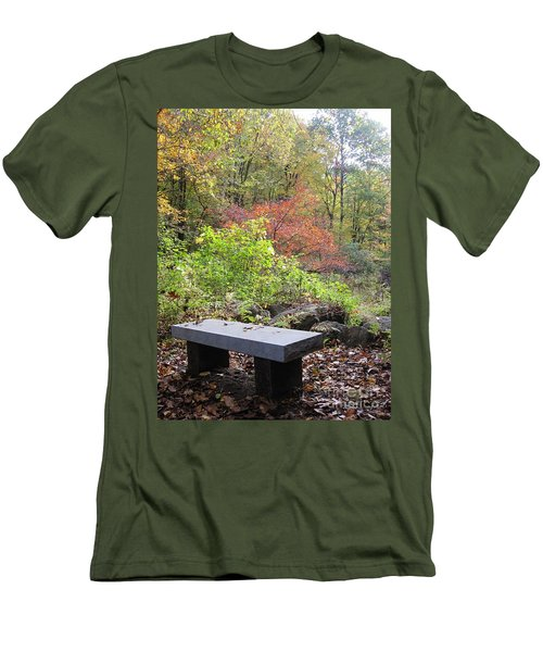 A Place To Think II Men's T-Shirt (Athletic Fit)
