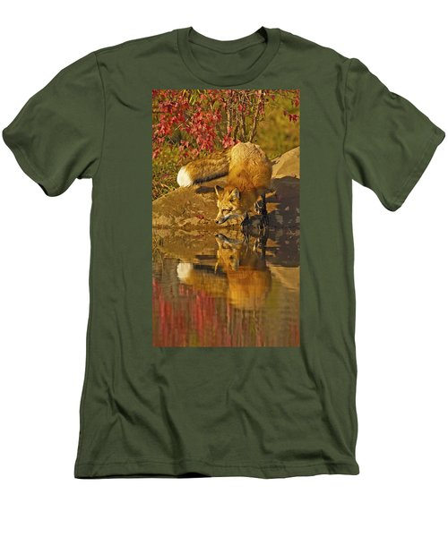 A Real Fox Men's T-Shirt (Athletic Fit)