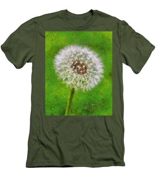Men's T-Shirt (Slim Fit) featuring the painting A Simple Beauty by Joe Misrasi
