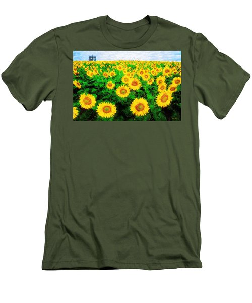 A Sunny Day With Vincent Men's T-Shirt (Athletic Fit)