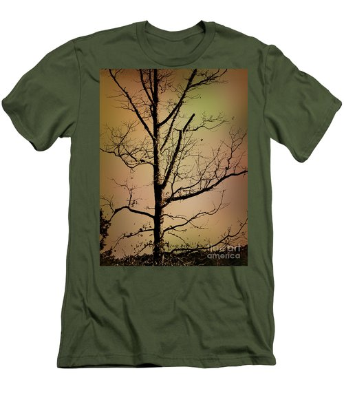 A Tree By The Lake Men's T-Shirt (Athletic Fit)