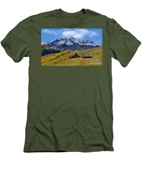 A View From Last Dollar Road Men's T-Shirt (Slim Fit) by Jerry Fornarotto