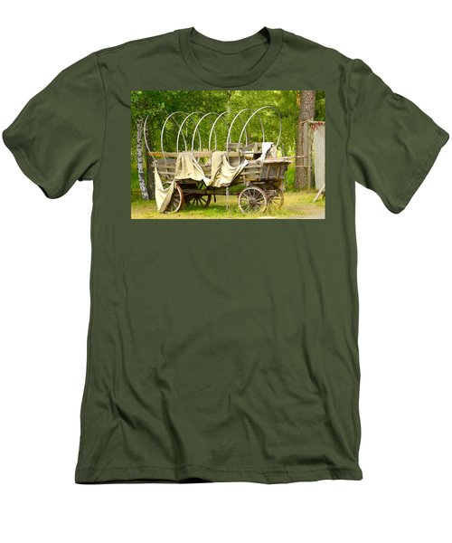 A Wagon Men's T-Shirt (Athletic Fit)