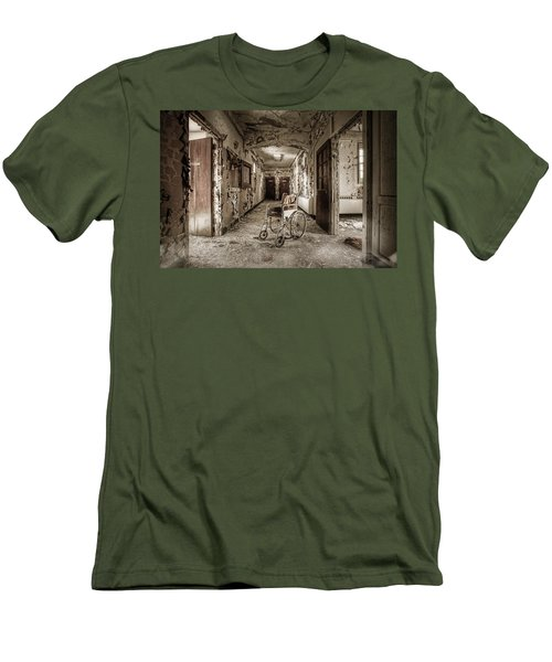 Abandoned Asylums - What Has Become Men's T-Shirt (Slim Fit)