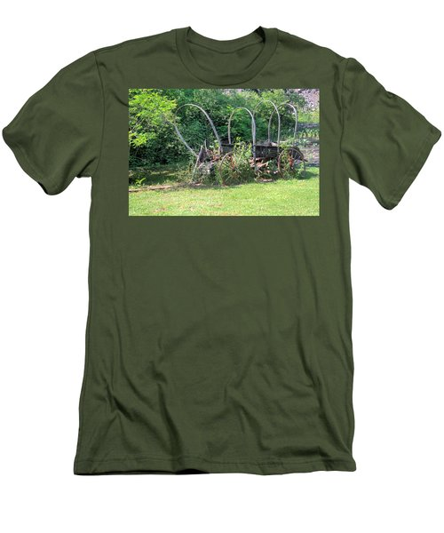 Men's T-Shirt (Slim Fit) featuring the photograph Abandoned by Gordon Elwell