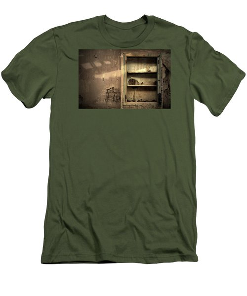 Abandoned Kitchen Cabinet Men's T-Shirt (Athletic Fit)