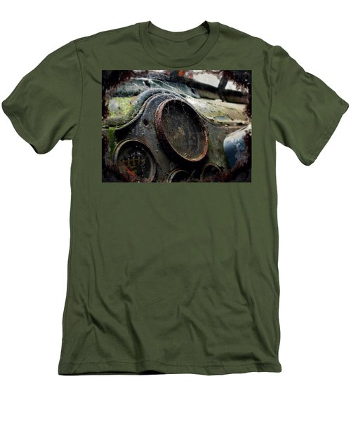 Men's T-Shirt (Slim Fit) featuring the photograph Abandoned by Micki Findlay