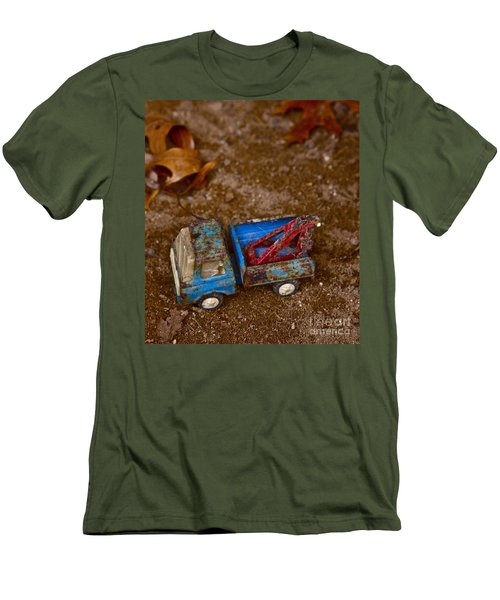 Men's T-Shirt (Slim Fit) featuring the photograph Abandoned Truck by Xn Tyler