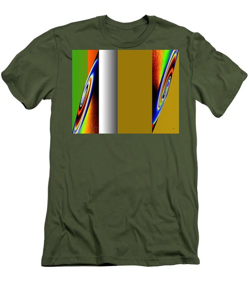 Men's T-Shirt (Athletic Fit) featuring the digital art Abstract Fusion 211 by Will Borden