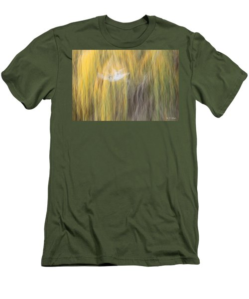 Men's T-Shirt (Slim Fit) featuring the photograph Abstract Haze by Amy Gallagher
