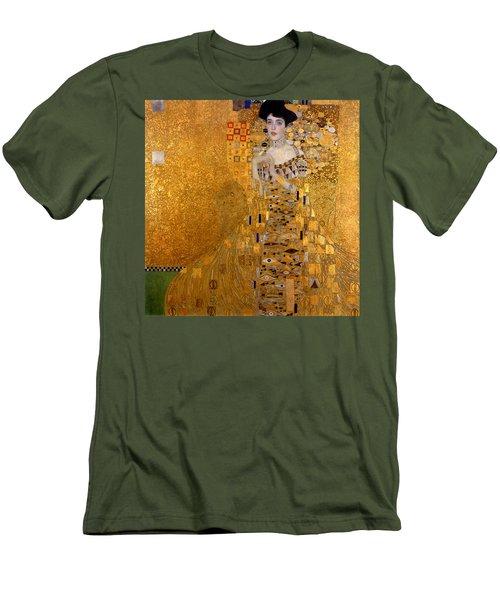 Adele Bloch Bauers Portrait Men's T-Shirt (Slim Fit) by Gustive Klimt
