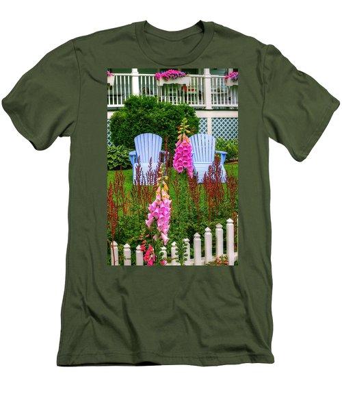 Adirondack Garden Men's T-Shirt (Athletic Fit)