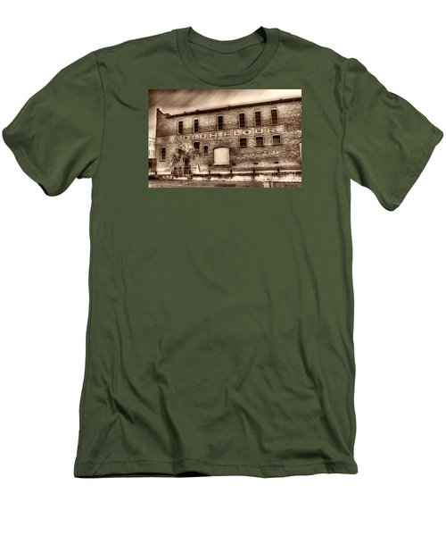 Adluh Flour Sc Men's T-Shirt (Slim Fit) by Skip Willits