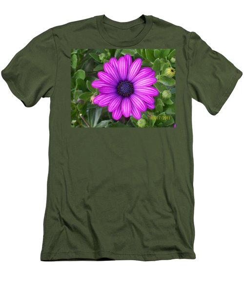 Men's T-Shirt (Slim Fit) featuring the photograph African Beauty by Belinda Lee