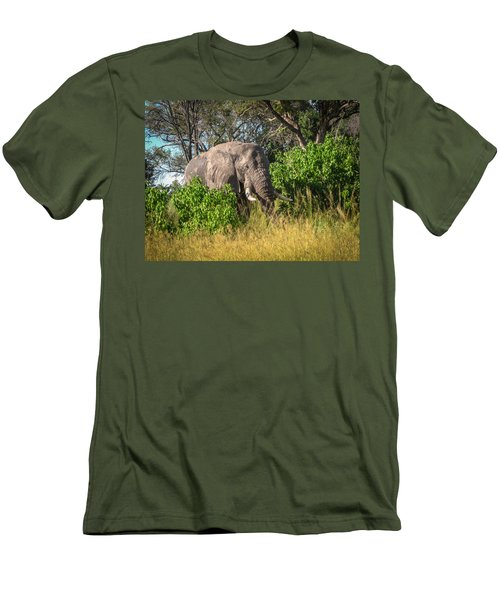 African Bush Elephant Men's T-Shirt (Athletic Fit)