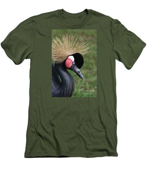 African Crowned Crane #2 Men's T-Shirt (Slim Fit)