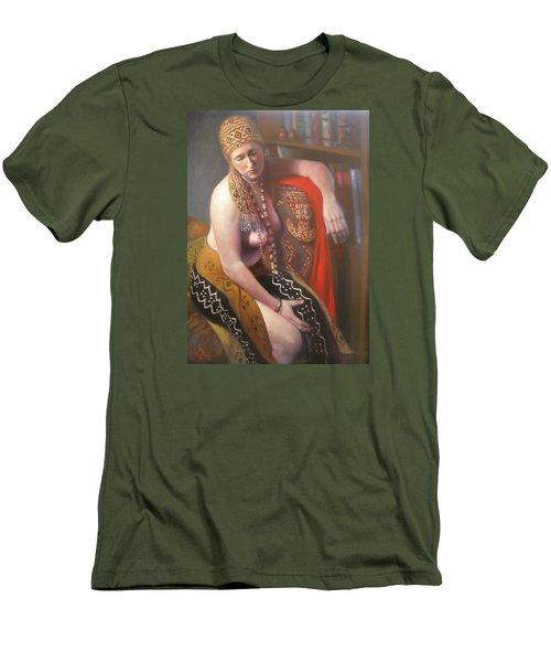 African Drum #2 Men's T-Shirt (Athletic Fit)