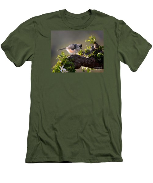 After The Bath Men's T-Shirt (Slim Fit) by Nava Thompson