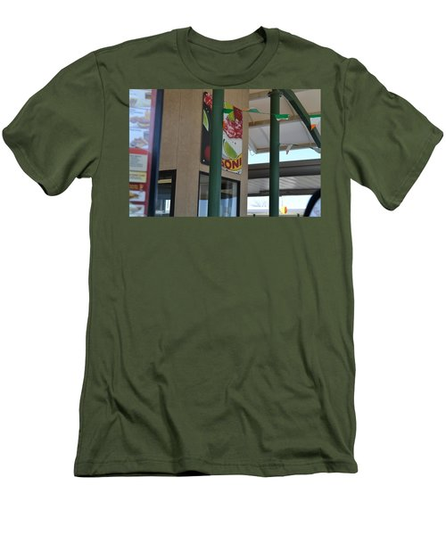 Afternoon Drink Men's T-Shirt (Athletic Fit)