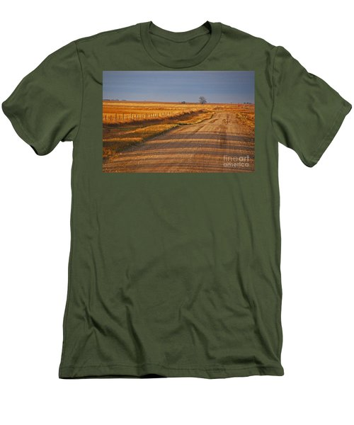 Afternoon Shadows Men's T-Shirt (Athletic Fit)