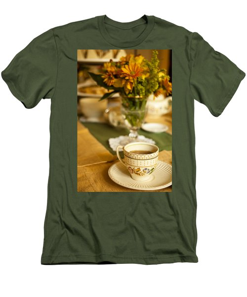 Afternoon Tea Time Men's T-Shirt (Athletic Fit)