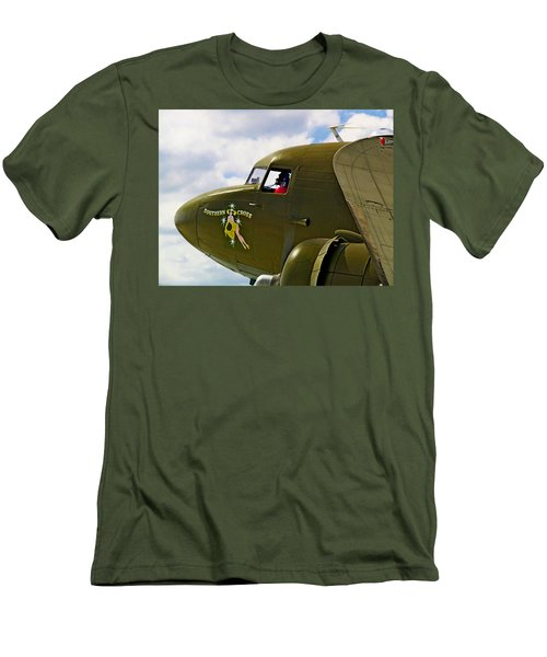 Airplane Named Southern Crosss Men's T-Shirt (Athletic Fit)