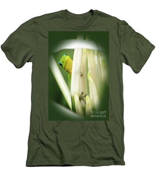Men's T-Shirt (Slim Fit) featuring the photograph Aloha by Ellen Cotton