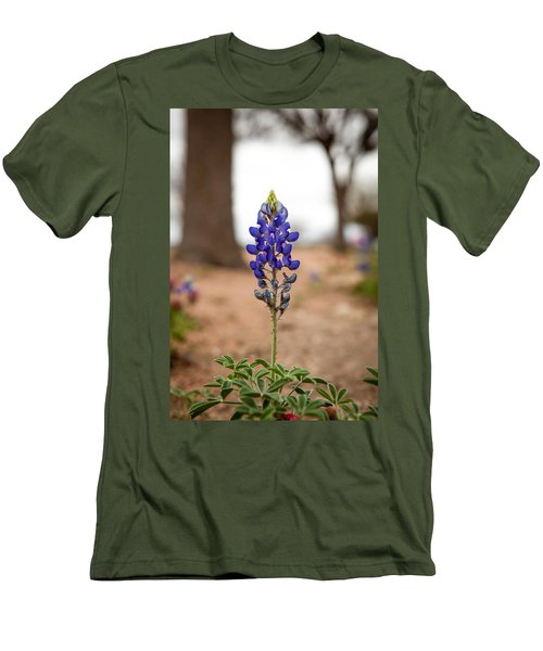 Alone In The Woods Men's T-Shirt (Athletic Fit)