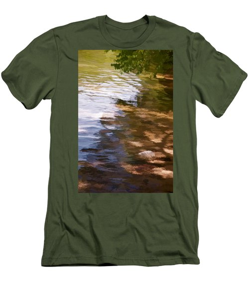 Along The Shore Men's T-Shirt (Athletic Fit)