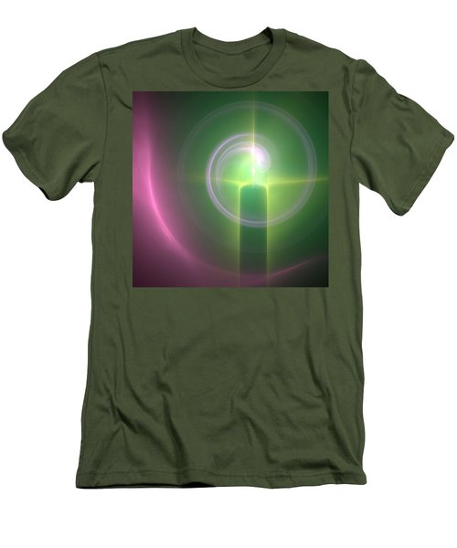 Men's T-Shirt (Slim Fit) featuring the digital art Altar by Svetlana Nikolova