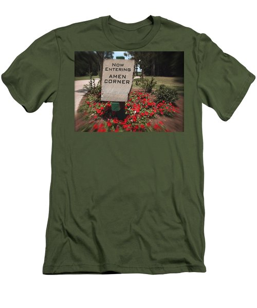 Amen Corner - A Golfers Dream Men's T-Shirt (Slim Fit)