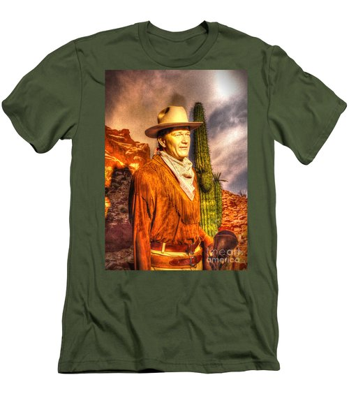 American Cinema Icons - The Duke Men's T-Shirt (Athletic Fit)